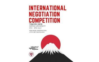 Jovens estudam técnicas de negociação de Harvard para competição no Japão