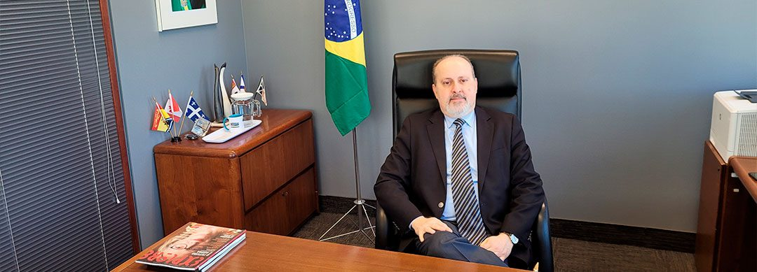 Nedilson Jorge is the new Consul General of Brazil in Montreal