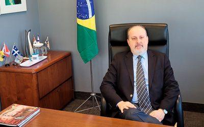 Nedilson Jorge é o novo cônsul geral do Brasil em Montreal