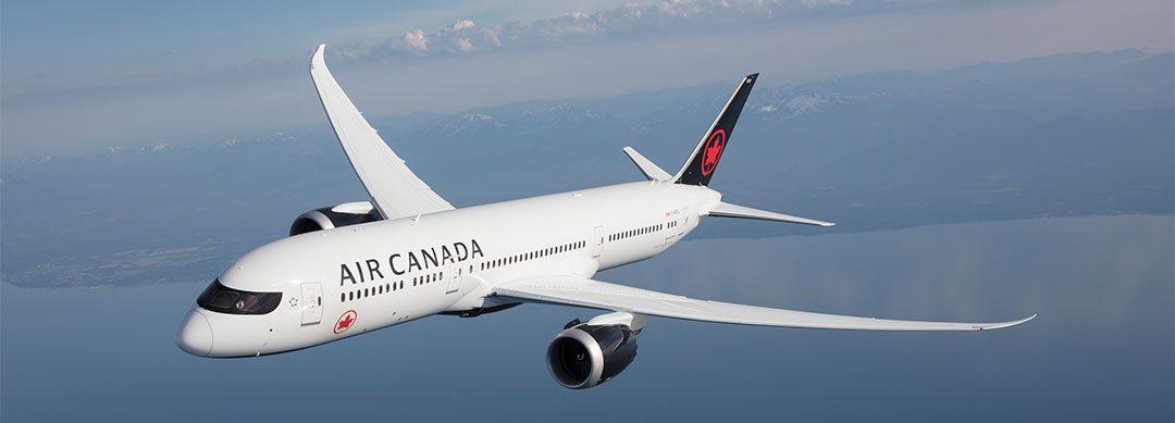 Air Canada retoma voos no Brasil